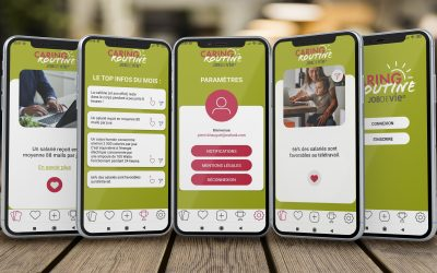 CARING ROUTINE – Application mobile